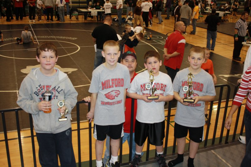 Milford Youth Wrestling Home